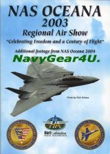 "NAS OCEANA 2003 ""Regional Air Show""エアショーDVD"