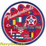 USAF THUNDERBIRDSヨーロピアンツアー2011記念パッチ