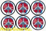 第11飛行隊ブルーインパルスドルフィンライダーパッチ(1番機〜6番機、機番無し)ベルクロオス/メス付き