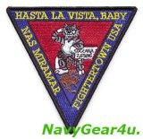 NASミラマーFIGHTERTOWN USA HASTA LA VISTA,BABY記念パッチ