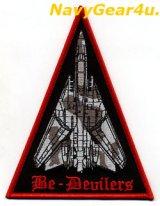VF-74 BE-DEVILERS F-14B RED AIR ショルダートライングルパッチ
