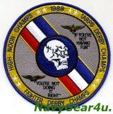 VF-2 BOUNTY HUNTERS 1988年TRIPLE CHAMPS記念パッチ