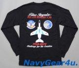 第11飛行隊ブルーインパルス2014年シーズンJASDF60THツアー記念限定ロングスリーブT-シャツ(長袖)