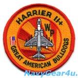 VMA-223 BULLDOGS AV-8BハリアーII+ショルダーバレットパッチ