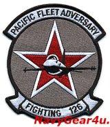 VF-126 BANDITS 部隊パッチ(F-16 Ver.2/ベルクロ有無)
