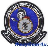NAVAL AIR SYSTEM COMMAND AIR4.0M部隊パッチ