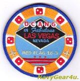 D.C.ANG 113WG/121FS CAPITAL GUARDIANSレッドフラッグ2016-03参加記念パッチ(ベルクロ付き)
