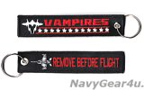 VX-9 VAMPIRES REMOVE BEFORE FLIGHTキーリング