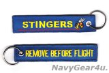 VFA-113 STINGERS REMOVE BEFORE FLIGHTキーリング