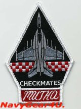 VFA-211 FIGHTING CHECKMATES 2008年度MUTHAアワード受賞記念パッチ