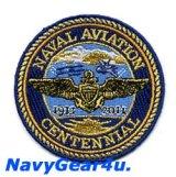 米海軍航空100周年NAVAL AVIATION CENTENNIAL記念パッチ(ショルダーパッチ)