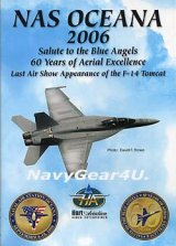 "NAS OCEANA 2006 AIRSHOW ""LAST AIRSHOW OF F-14"" DVD"