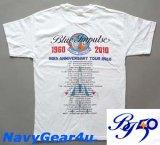 第11飛行隊ブルーインパルス部隊50周年記念限定ツアーT-シャツ(ホワイト)