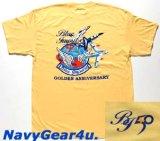 第11飛行隊ブルーインパルス部隊創設50周年記念限定T-シャツ(ライトイエロー)