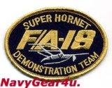 VFA-106 GLADIATORS SUPER HORNETデモチームF/A-18E/Fオーバルパッチ(ベルクロ有無)