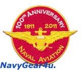米海軍航空100周年オフィシャル記念パッチ(海兵隊バージョン)