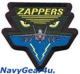 VAQ-130 ZAPPERS EA-18G GROWLERショルダーパッチ