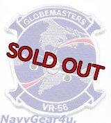 VR-56 GLOBEMASTERS部隊パッチ(現行Ver.)