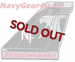 画像1: VAQ-141 SHADOWHAWKS EA-18G NF500 CAGバード垂直尾翼パッチ