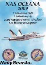 "NAS OCEANA 2009 ""Neptune Festival Air Show""エアショーDVD(ボーナス2002ショー収録)"