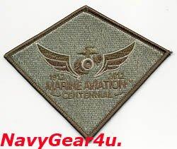 画像1: 米海兵隊航空100周年MARINE AVIATON CENTENNIAL公式記念パッチ(サブデュード)
