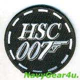 """HSC-7 DUSTY DOGS """"ダブルオーセブン""""ショルダーバレットパッチ"""