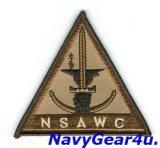NSAWC部隊パッチ(デザート/ベルクロ有無)
