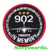 VAQ-129 VIKINGS EA-6B NJ902&搭乗員追悼記念パッチ2013