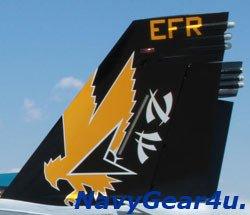 画像2: VFA-115 EAGLES NF300 CAGバード垂直尾翼パッチ(2013〜 Ver.)