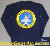 VFA-97 WARHAWKS オフィシャルロングスリーブT-シャツ(長袖)