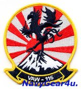 VAW-115 LIBERTY BELLS THROWBACK部隊パッチ(FDNF Ver./ベルクロ有無)