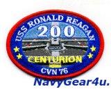 CVN-76ロナルド・レーガン200センチュリオンパッチ