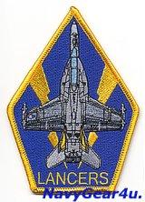 VAQ-131 LANCERS EA-18Gショルダーパッチ(ベルクロ有無)
