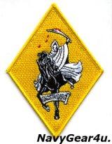 VF-142 GHOSTRIDERS部隊パッチ(最終期/ベルクロ有無)