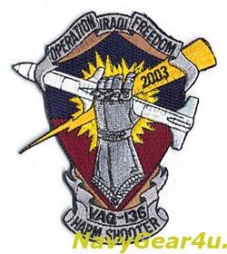 画像1: VAQ-136 GAUNTLETS 2003年湾岸戦争イラキフリーダム作戦参戦記念パッチ