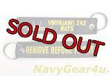 VMFA(AW)-242 BATS REMOVE BEFORE FLIGHTキーリング(1個)