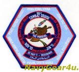 CVW-17/CVN-70 コンバットクルーズ2010-11記念パッチ(VFA-81)
