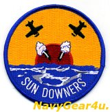VF-111 SUNDOWNERS部隊パッチ(ラウンドVer.)