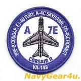 VFA-146 BLUE DIAMONDS A-7E THROWBACKショルダーバレットパッチ