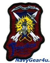 VAQ-136 GAUNTLETS 1991年湾岸戦争デザートストーム作戦AGM-88 発射記念パッチ