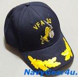 VFA-32 SWORDSMENオフィシャルボールキャップ(中佐/大佐用/Ver.2)