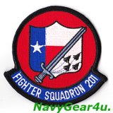 VF-201 HUNTERS部隊パッチ