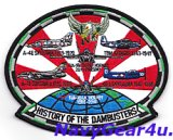 VFA-195 DAM BUSTERSヒストリーパッチII(NEWバージョン)