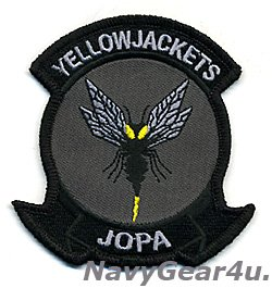 画像1: VAQ-138 YELLOW JACKETS JOPA部隊パッチ(Ver.2/ベルクロ有無)