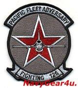 VF-126 BANDITS 部隊パッチ(F-16 Ver.1/ベルクロ有無)