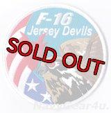 ニュージャージーANG 177FW/119FS JERSEY DEVILS F-16 SWIRLショルダーパッチ