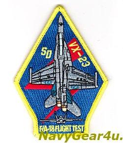 画像1: VX-23 STRIKE AIRCRAFT TEST SQUADRON F/A-18 FLIGHT TEST ショルダーパッチ