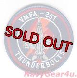 VMFA-251 THUNDERBOLTS F/A-18Cショルダーバレットパッチ(NEW Ver.)