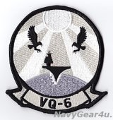 VQ-6 BLACK RAVENS部隊パッチ(サブデュード/デッドストック)