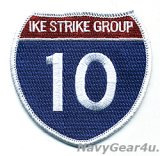 "CARRIER STRIKE GROUP-10(CSG-10)""IKE STRIKE GROUP 10""パッチ"